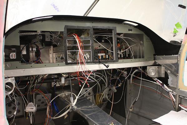 Radio stack wiring